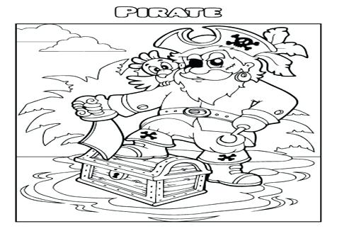 476x333 Pirate Coloring Book Together With Pirate Map Coloring Page Pirate