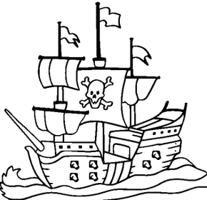 pirate ship drawing for kids at getdrawings com free for personal