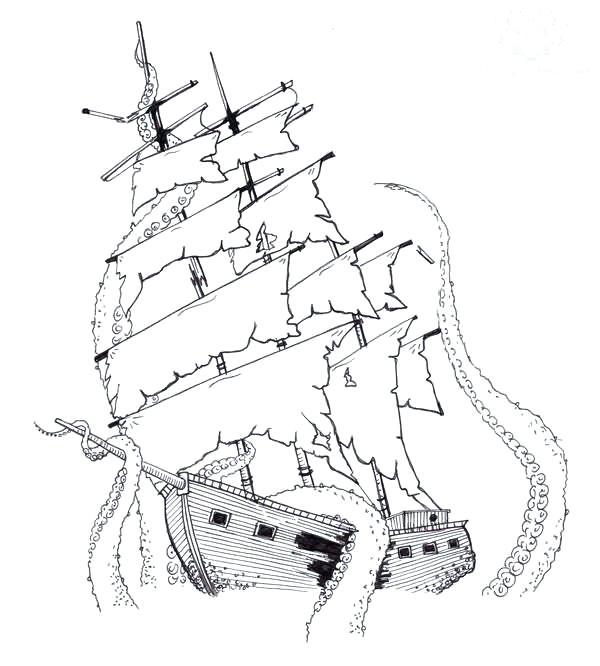 600x666 Elegant Pirate Ship Design Ideas Designing Home