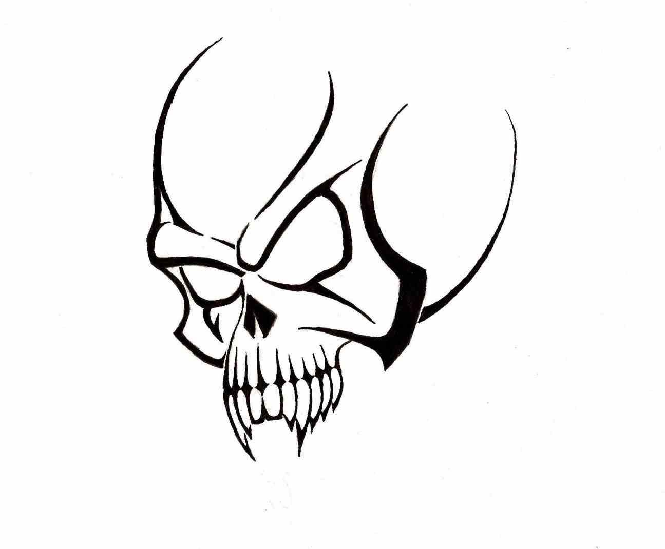 Pirate Skull Drawing at GetDrawings   Free download