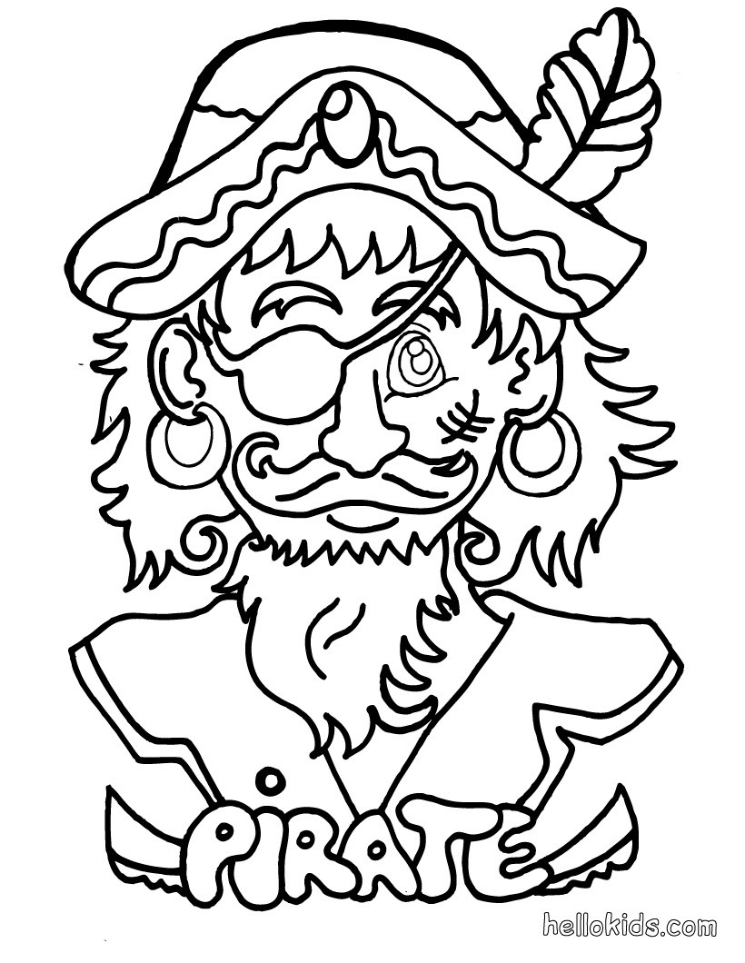 820x1060 Pirate Coloring Pages Hellokids Com Within Treasure Chest Page