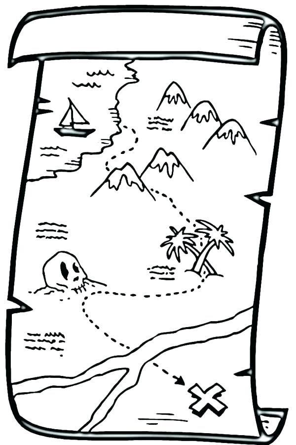 600x902 Treasure Chest Coloring Pages