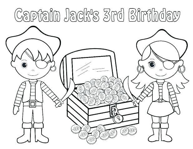 Pirate Treasure Chest Drawing At GetDrawings.com