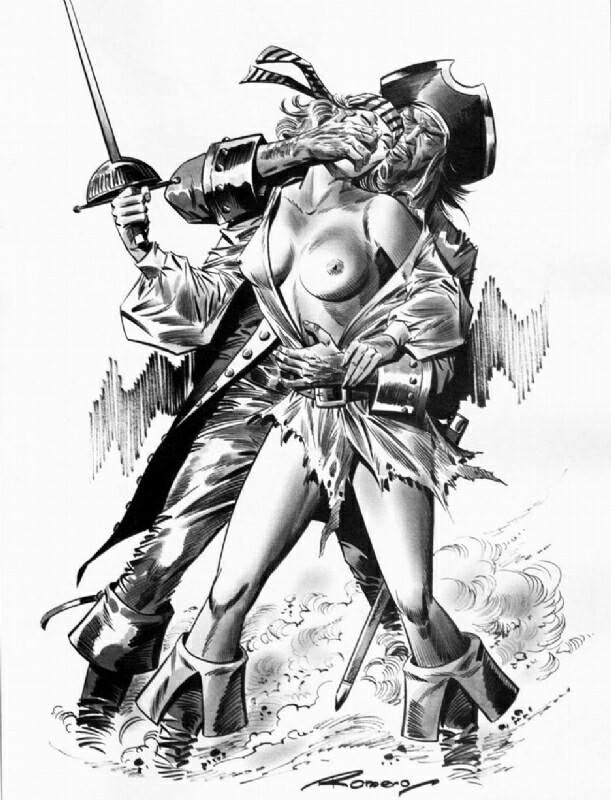 Pirate Wench Drawing at GetDrawings com | Free for personal
