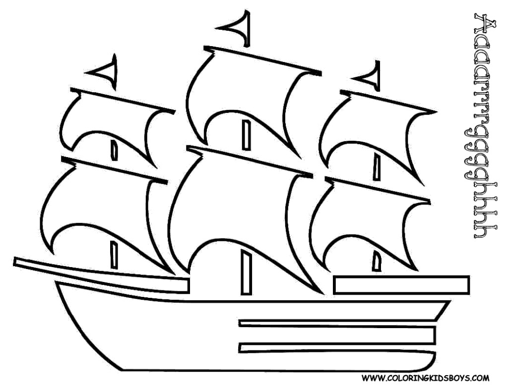 1024x791 Pirate Ship Coloring Pages Free Tall Ships Bebo Pandco