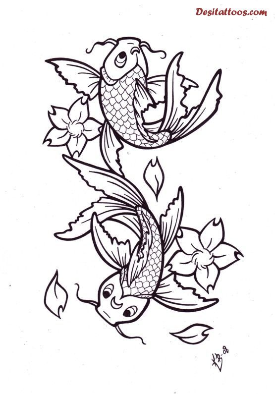 Pisces Drawing