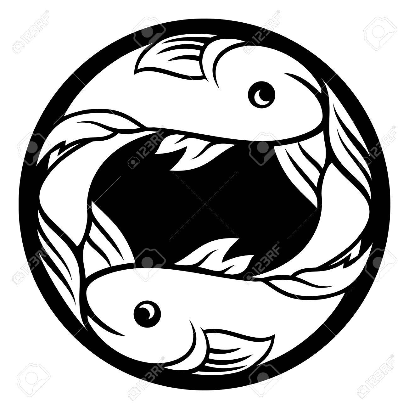 1300x1300 Pisces Fish Zodiac Horoscope Astrology Sign Royalty Free Cliparts