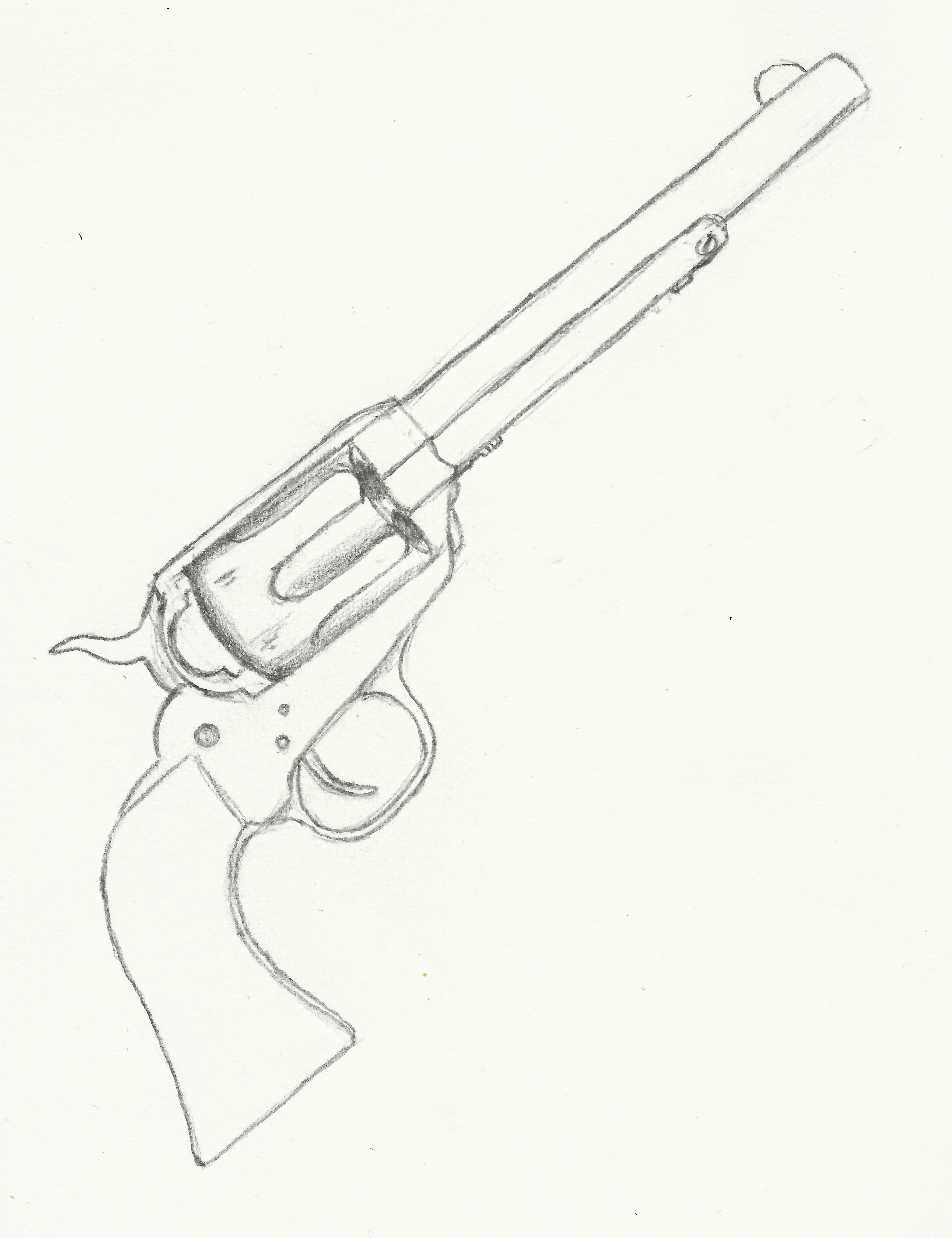 Pistol Drawing