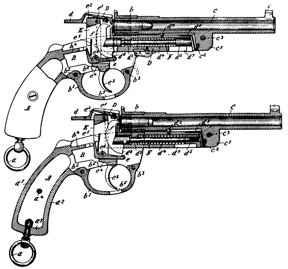 1000x936 Early Mauser Revolvers And Pistols
