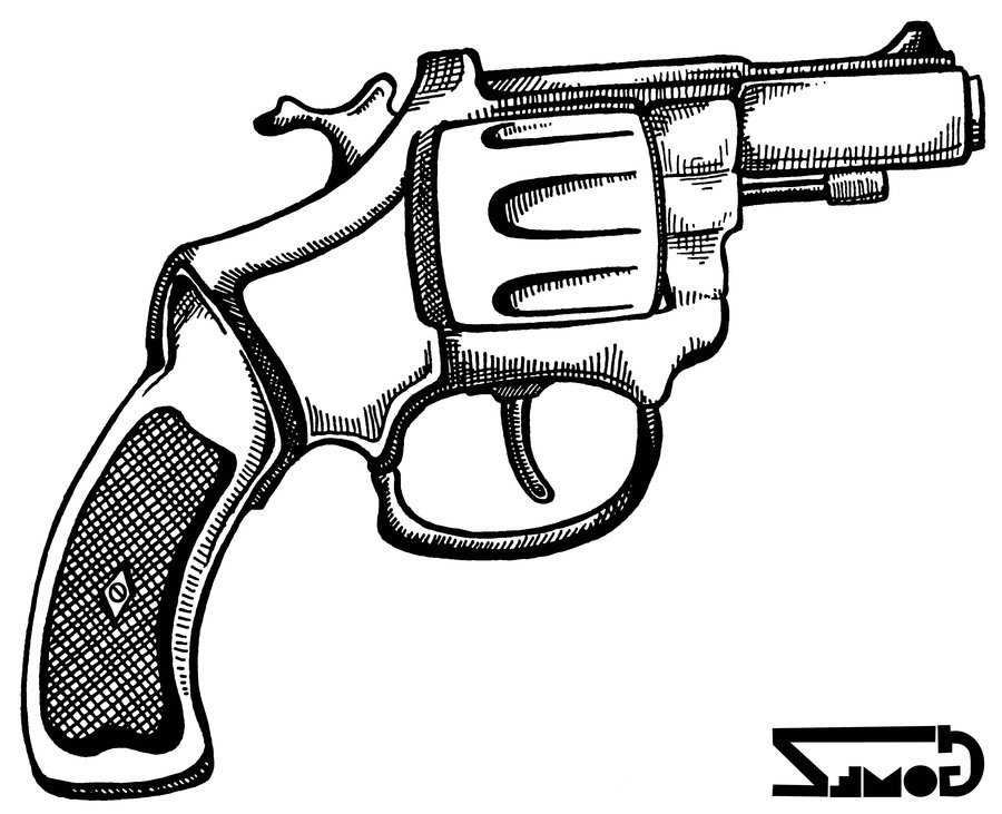 900x731 Patrick's Pistol By Gom3z Fire