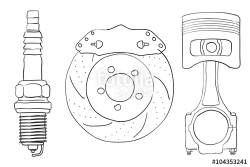 The Best Free Piston Drawing Images Download From 88 Free Drawings