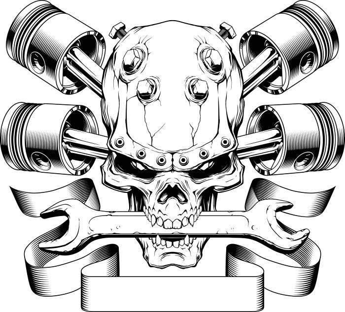 700x634 Motorcycle Logo