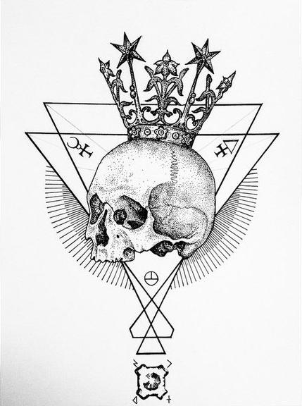 429x576 Royalty's Above Dotwork Tattoo Best Tattoo Ideas Gallery