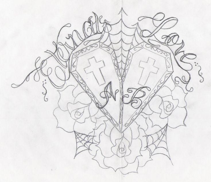 735x636 21 Best Eternal Love Tattoo Drawings Images On Artist