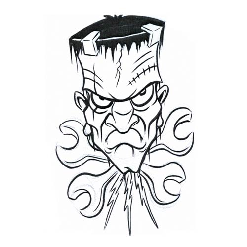500x500 Monsters Designs Tattoo, Monsters Men Tattoo, Monsters