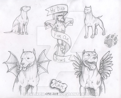 400x326 Pit Bull Flash Sheet No 1 By Zalikeh Hyena On DeviantArt