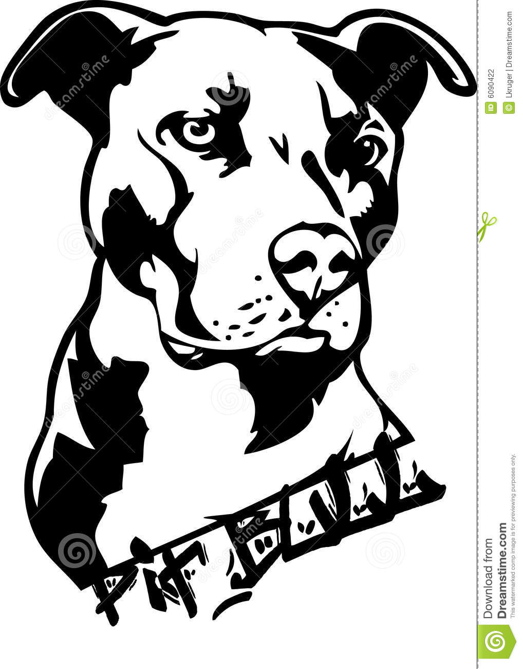 1018x1300 Pit Bull Dog Clipart