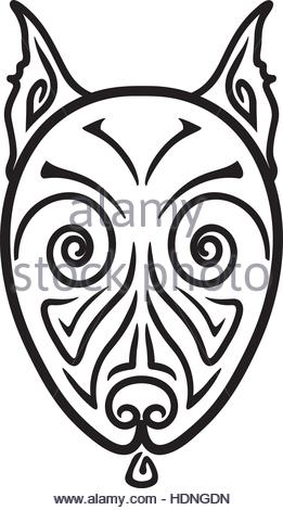 261x470 Pit Bull Head Vector Stock Vector Art Amp Illustration, Vector Image