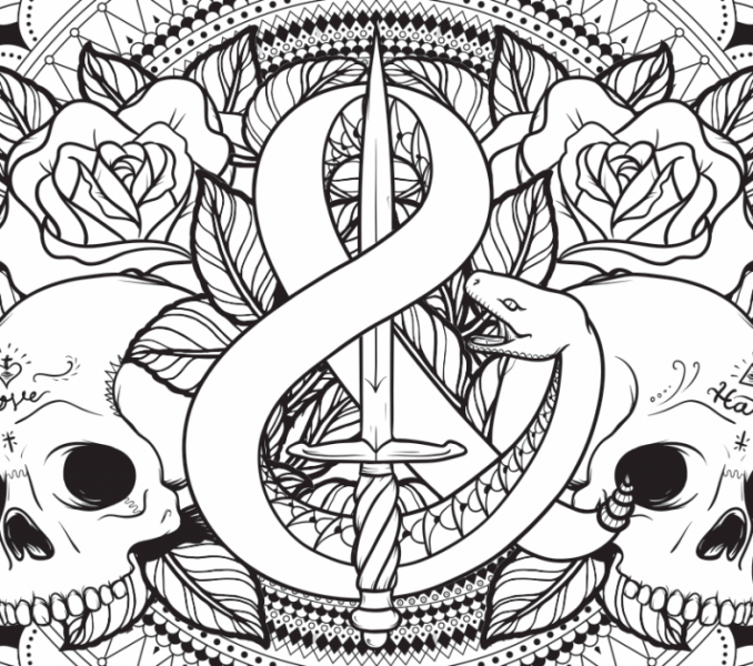 678x600 Pictures To Colour Coloring Page