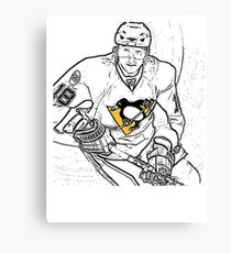 210x230 Pittsburgh Penguins Drawing Canvas Prints Redbubble