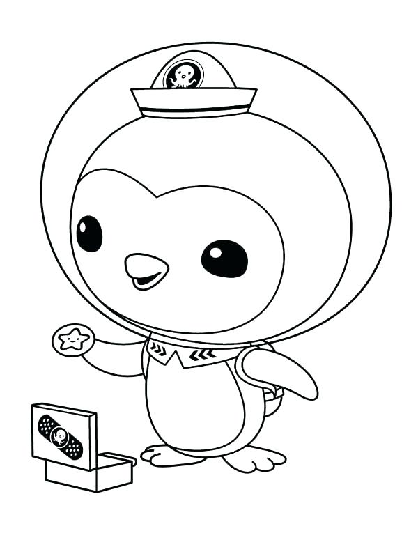 600x775 printable penguin coloring pages penguins coloring pages line - Coloring Page Penguin