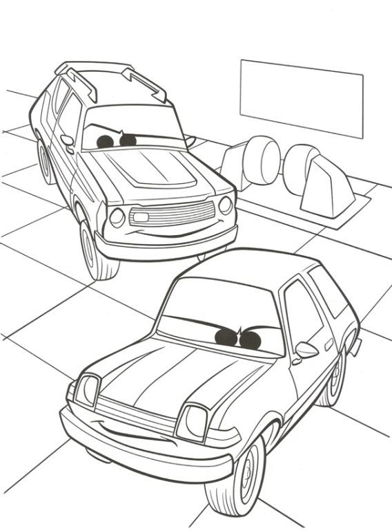 Pixar Cars Drawing At GetDrawings