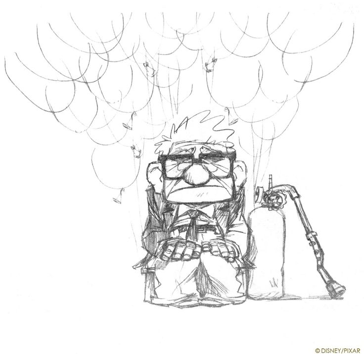 Pixar Drawing