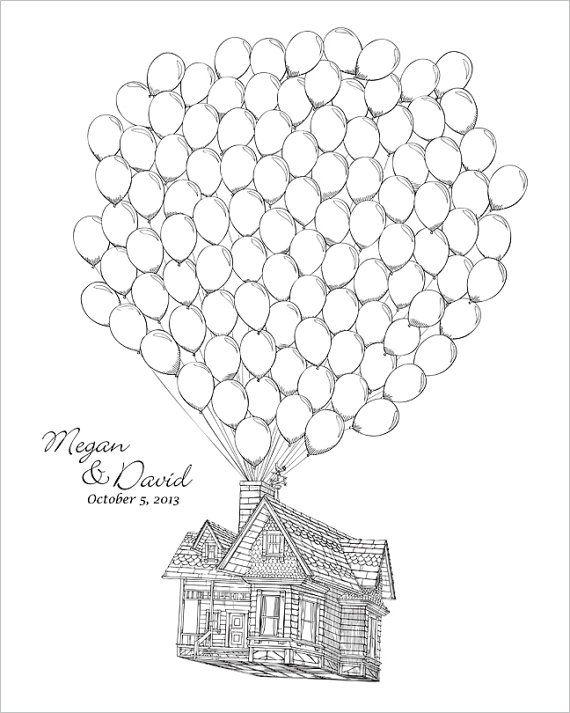 Pixar Up House Drawing at GetDrawings | Free download