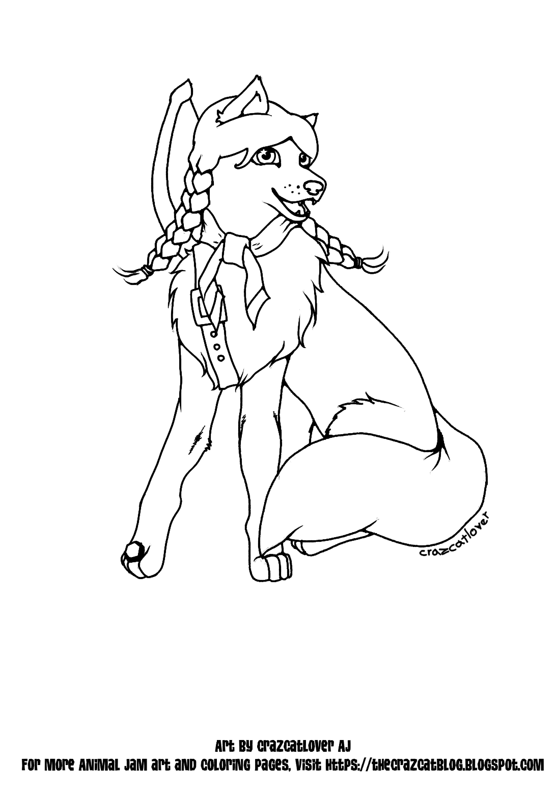 1096x1548 Non Pixelated Wolf Family Coloring Pages