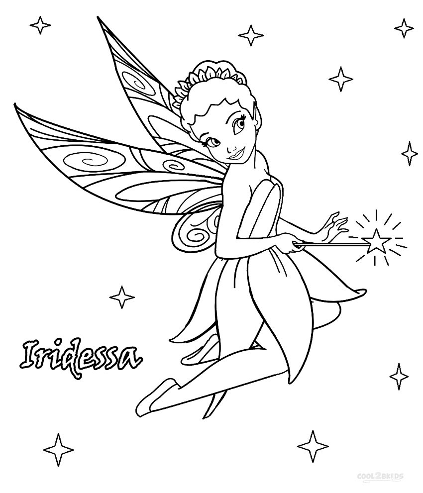 pixiehollow coloring pages - photo#25