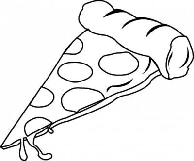 400x332 The Top 5 Best Blogs On Whole Pizza Clipart Black And White