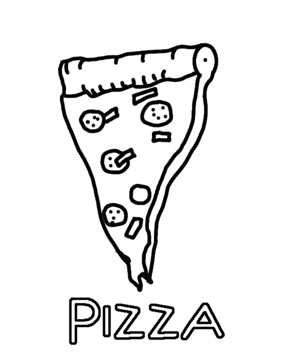 580x725 Pizza Pictures To Color Pizza Hut Coloring Pages Color Cook