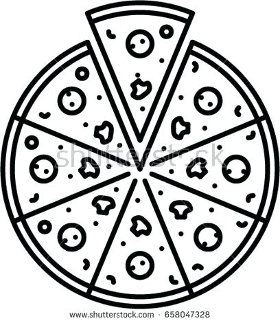 408x470 Pizza Outline Pizza Outline Icon Pizza Box Outline Ibbc.club