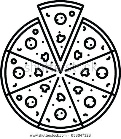 408x470 Pizza Outline Pizza Outline Icon Pizza Box Outline Ibbc.club