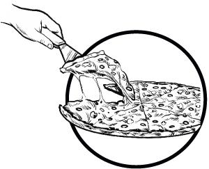 300x243 Deep Dish Pizza