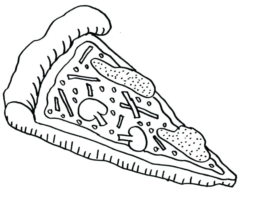 878x674 Pizza Coloring Pages To Print Free Pizza Coloring Pages To Print