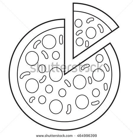 450x470 Pizza Clipart Drawn