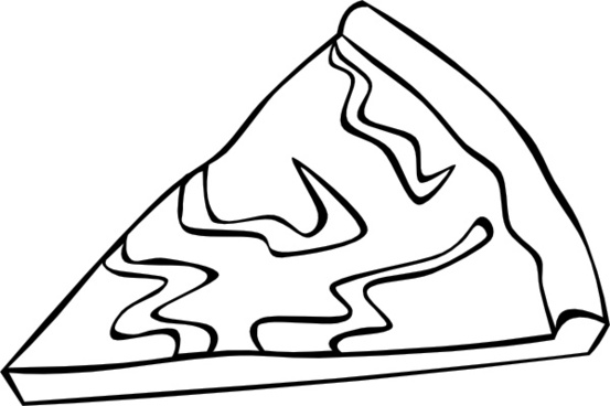 553x368 Pizza Slice Drawing Free Vector Download (90,028 Free Vector)