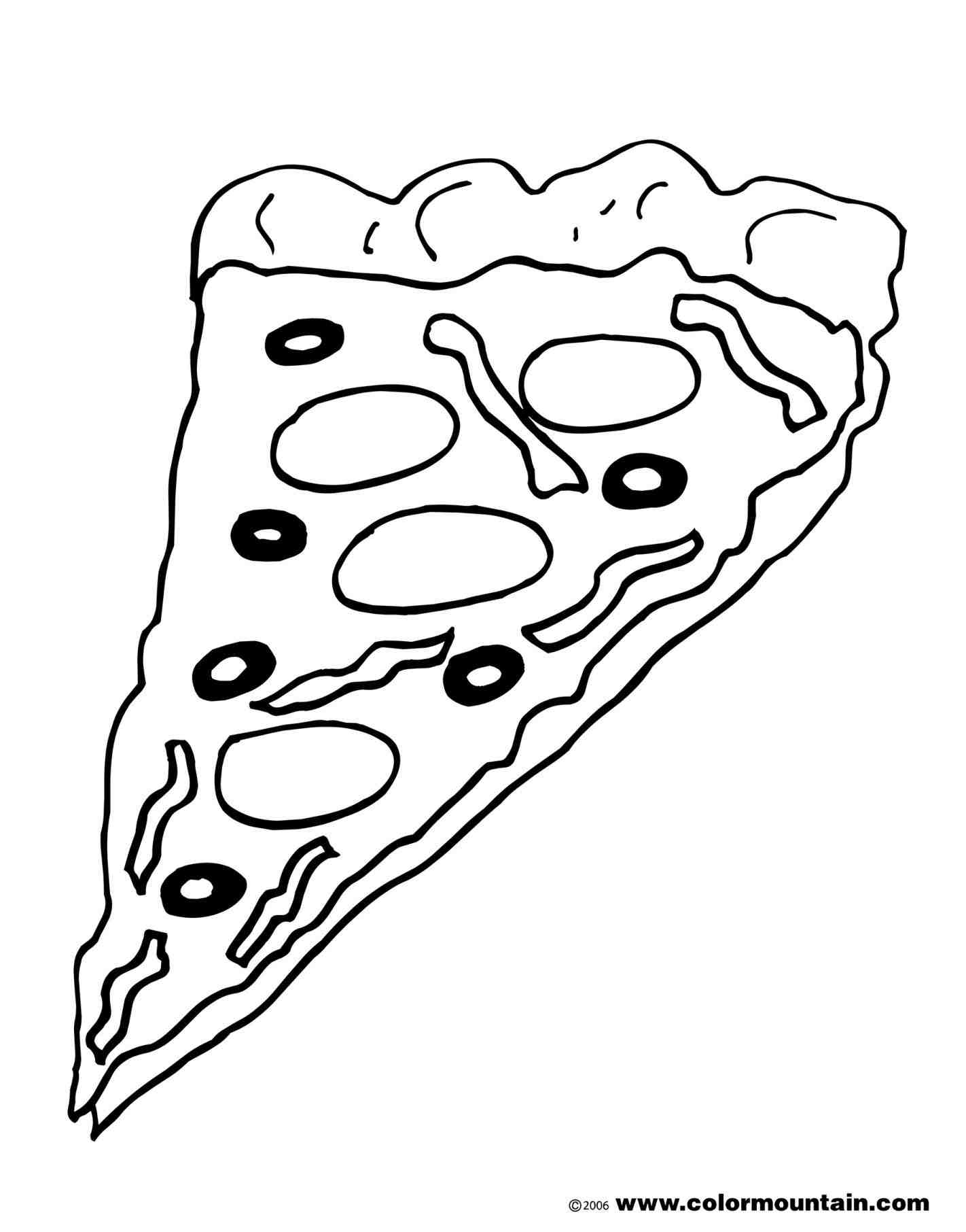 1422x1812 Pizza Slice. Pizza Slice Drawing Vector Art. Pizza Slice Vector