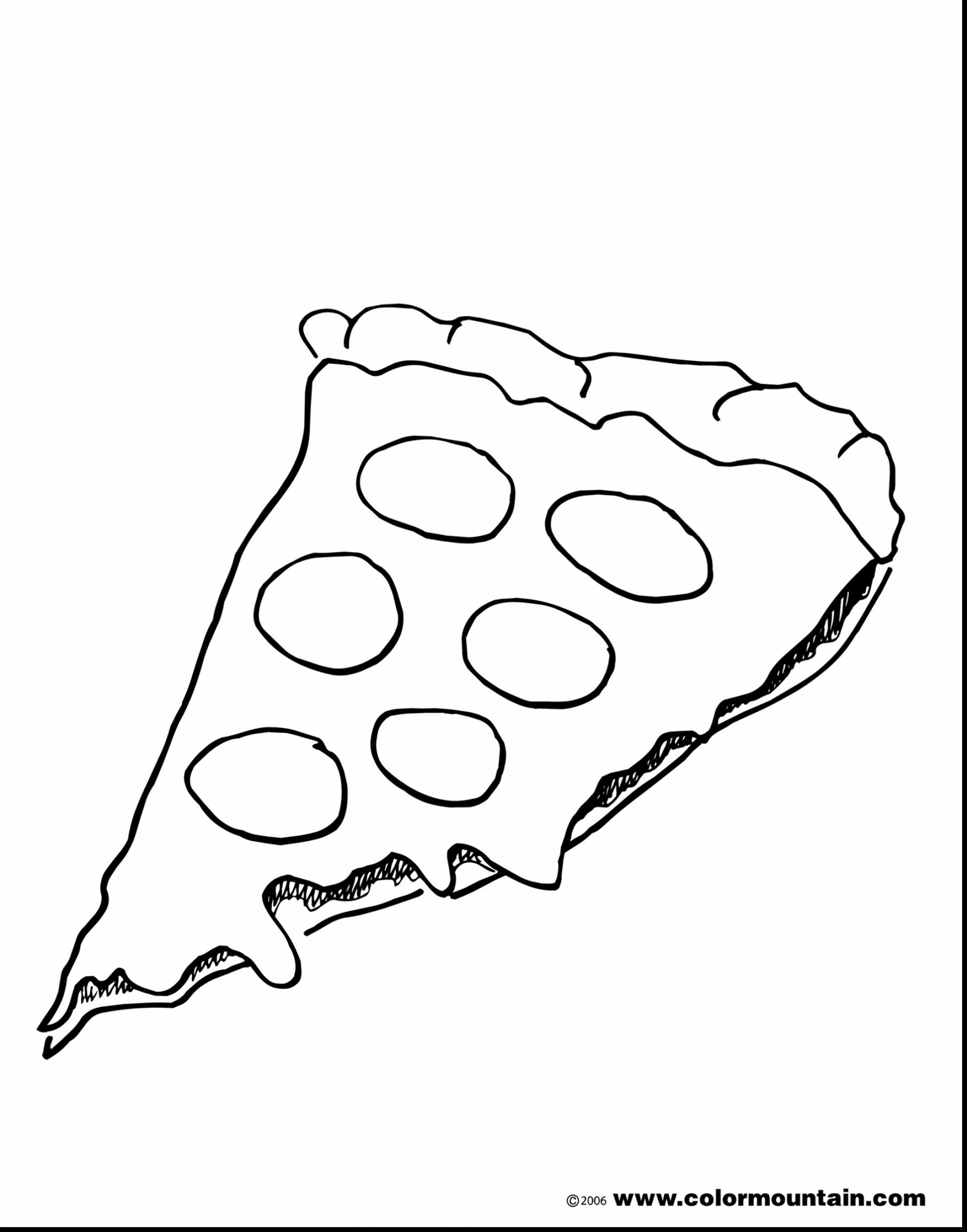 Pizza Slice Drawing at GetDrawings | Free download