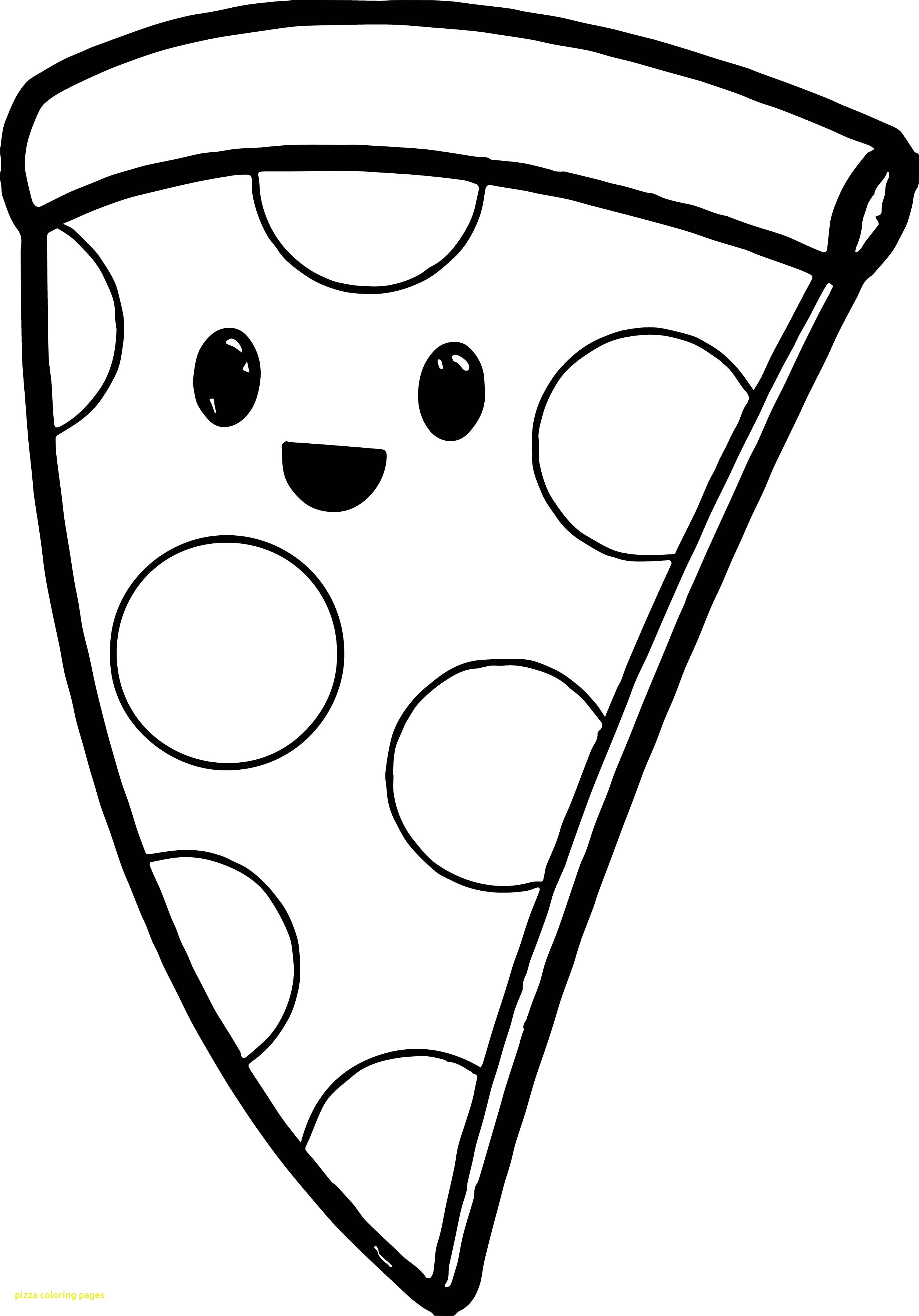 2499x3577 Pizza Coloring Pages With Very Cute Pizza Coloring Page