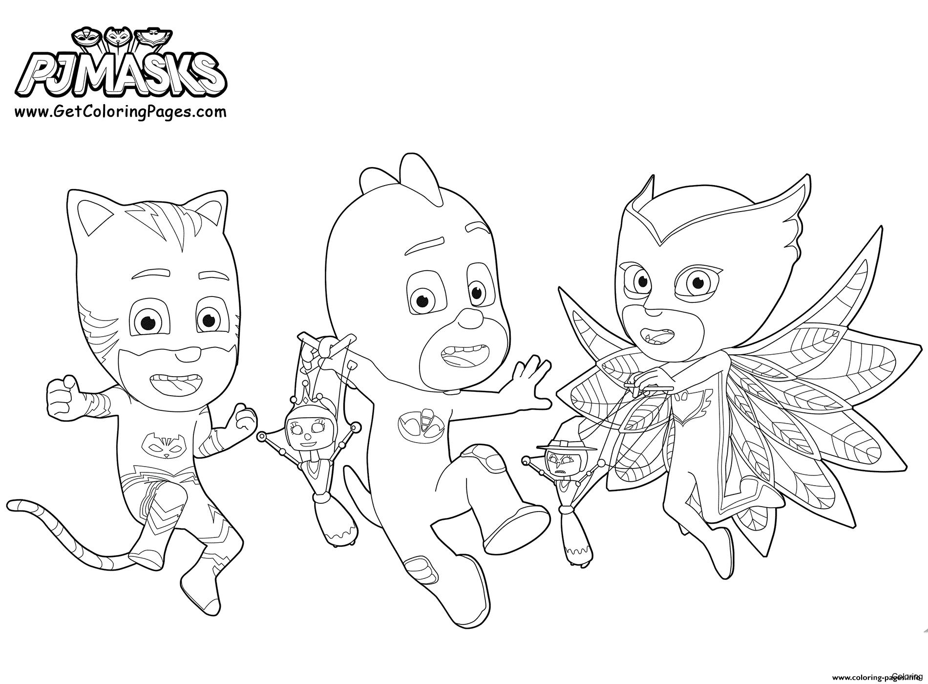 Pj Mask Drawing at GetDrawings