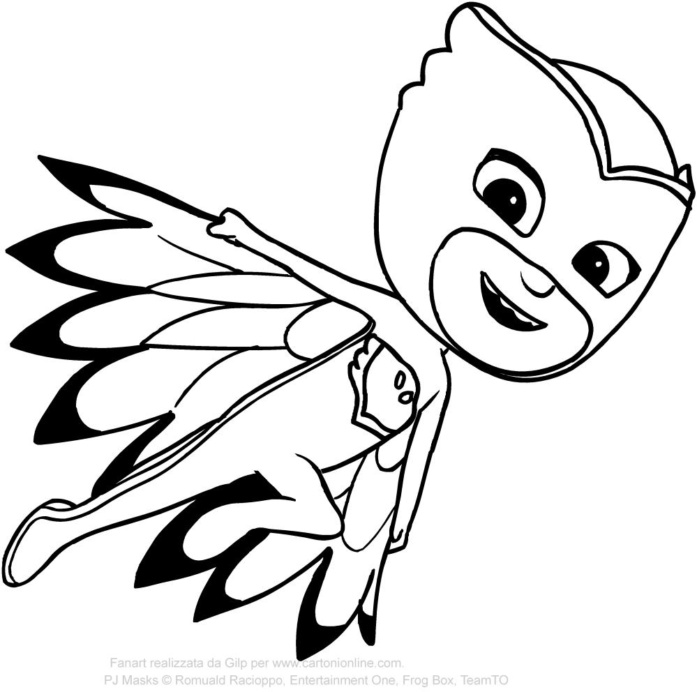 pj masks drawing 20
