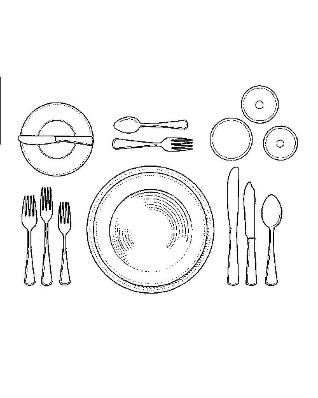 1040x1300 How To Set A Formal Dinner Table Martha Stewart