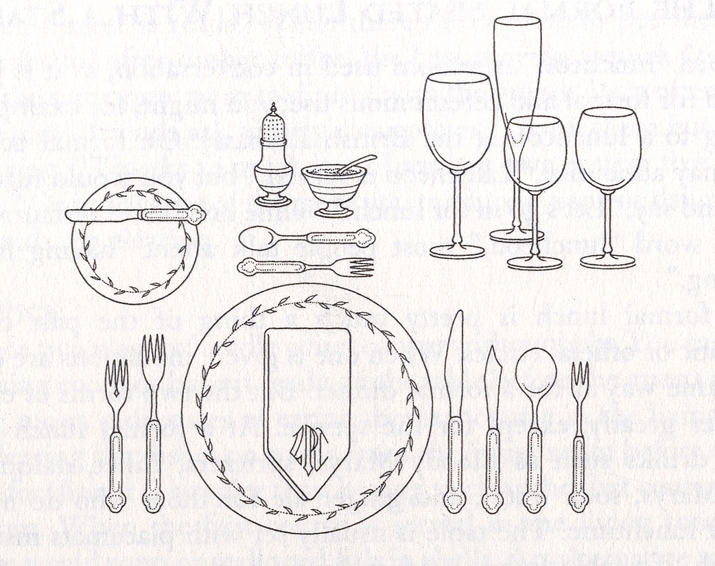 1042x825 Peaceably Formal Table Setting At An Event Party Or Wedding