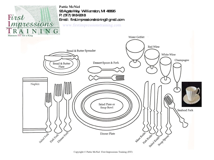 728x546 Proper Place Setting In Business