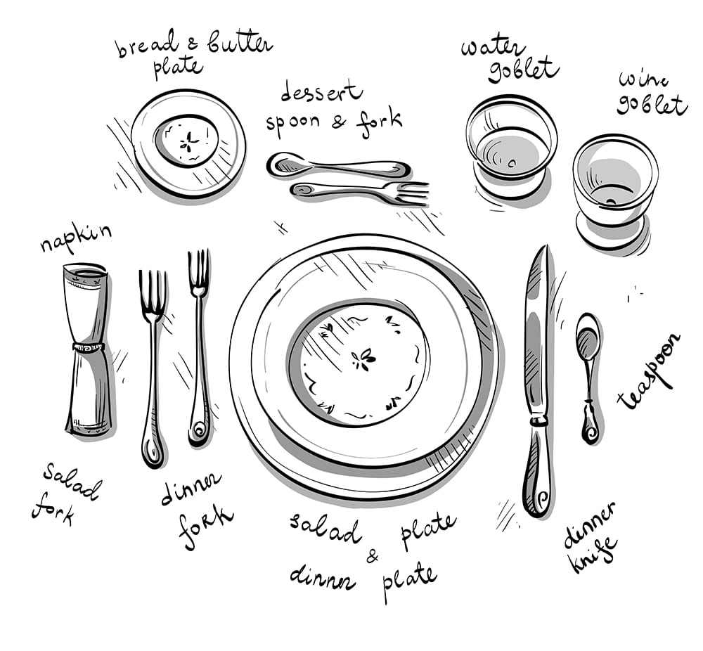 1000x926 Table Setting Etiquette 101 And Why It Matters Good Neighbor