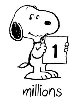 263x350 Snoopy Place Value Chart By An Apple For Teacher Tpt