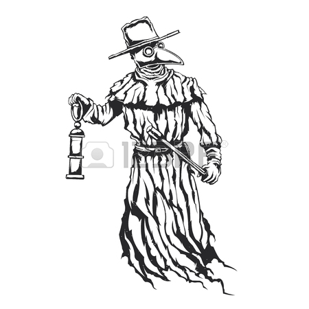 Plague Doctor Drawing