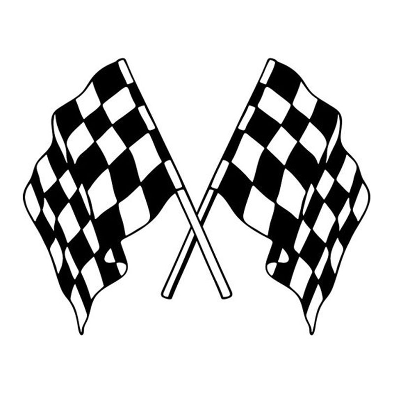 800x800 Buy Car Sticker Checkered And Get Free Shipping
